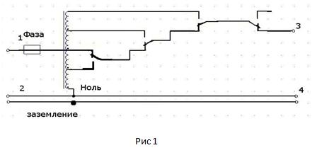 Схема стабилизатора, рис. 1